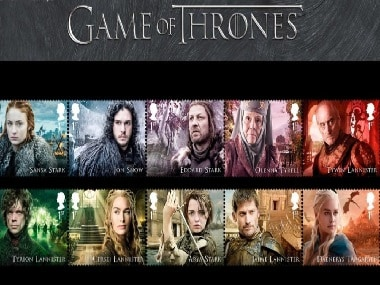 Game of Thrones stars appear on new stamp collection by Britain's Royal Mail