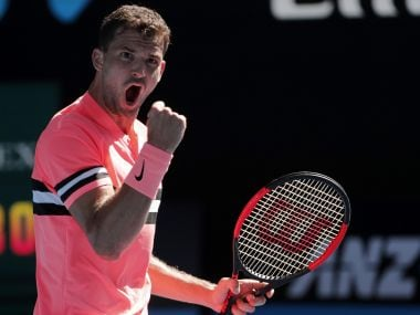 Australian Open 2018: Grigor Dimitrov eases into 2nd round; Next Gen's Denis Shapovalov, Andrey Rublev win