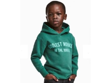 H&M apologises after severe backlash over racist 'coolest monkey in the jungle' ad campaign