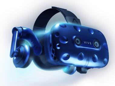 The HTC Vive Pro headset. Image: HTC Vive