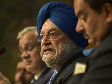File image of Union Minister of Housing and Urban Affairs Hardeep Singh Puri. PTI