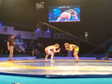 File image of Haryana Hammers player in action. Image courtesy: PWL