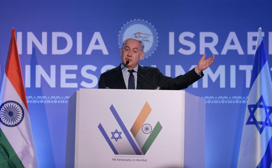 Benjamin Netanyahu in Mumbai: Israel PM meets business leaders, visits Nariman House with 26/11 survivor Moshe Holtzberg