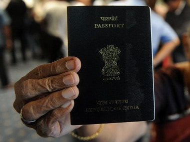 Passport is issued by MEA. AFP