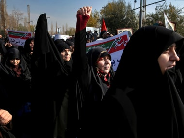Protests have hit Iran for a week. AP