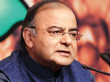 File image of Arun Jaitley. PTI