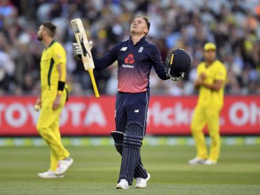 Australia vs England: Jason Roy's swashbuckling knock helps visitors to 5-wicket victory in 1st ODI