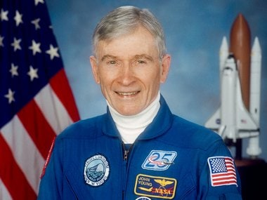 John Young, the NASA astronaut who walked on the moon dies at the age of 87