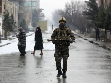 At least 11 people were killed in the attack on the Kabul military academy. AP