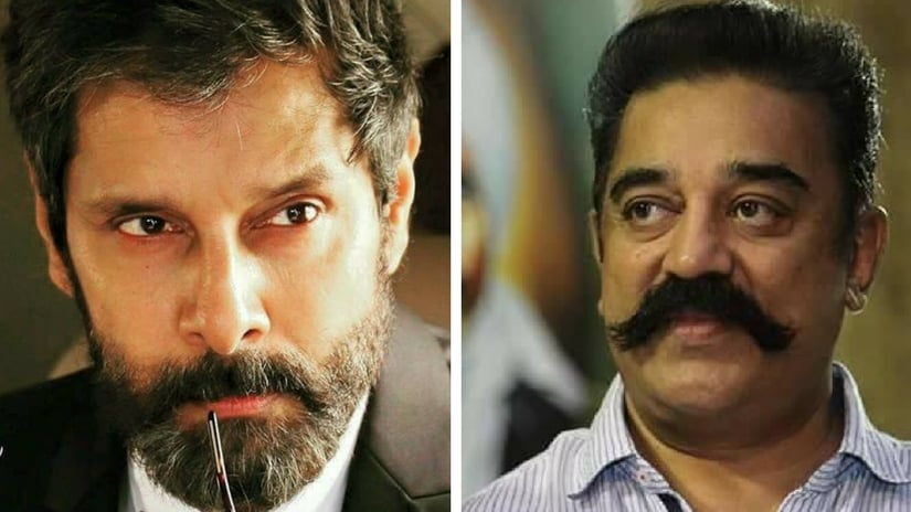 Kamal announces Chiyaan Vikram's new film