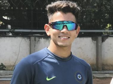 Kamlesh Nagarkoti will be one of India's main fast bowlers at the U-19 World Cup in New Zealand. Image Courtesy: Surender Singh