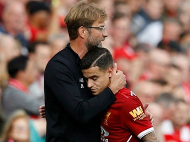 File image of Jurgen Klopp and Philippe Coutinho. Reuters