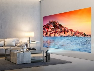 LG plans to showcase its first 4K UHD projector at CES 2018; claims that it's half the size of competitors
