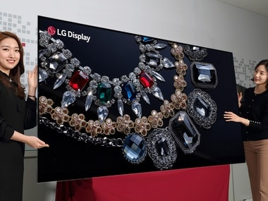 LG 8K display. Engadget