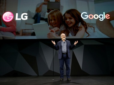 Scott Huffman, Google's vice president of engineering, Google Assistant, speaks at CES 2018.