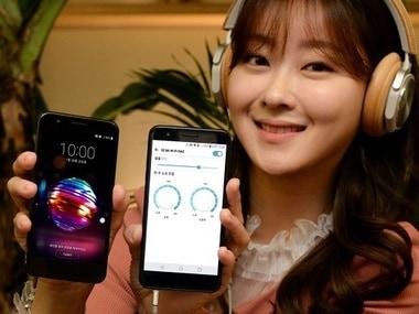 The LG X4 Plus. LG Social