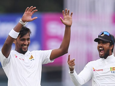 Sri Lanka's Suranga Lakmal named vice-captain ahead of Tests series against Bangladesh