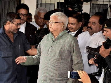 Fodder scam: Lalu Yadav appears before Ranchi CBI court, faces charges of fraud amounting to Rs 139 crore