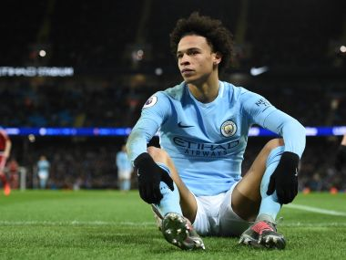 Leroy Sane is facing long spell on the sidelines after getting injured against Cardiff City in the FA Cup tie. AFP