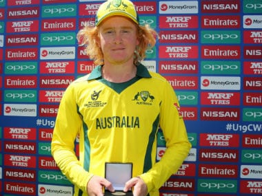 ICC U-19 World Cup 2018: Lloyd Pope's terrific spell of 8/35 guides Australia to semi-final