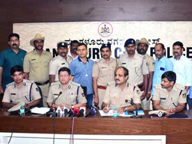 Four persons were arrested by the Mangaluru City Police on Thursday for the murder of Deepak Rao. Twitter@compolmlr