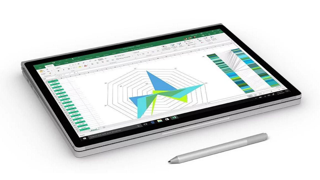 The Microsoft Surface Book 2. Microsoft