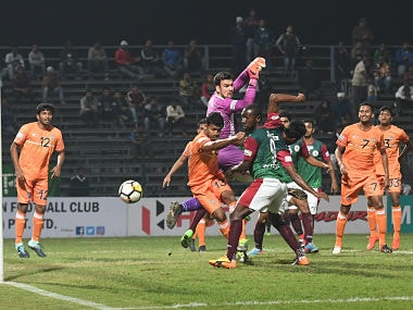 Mohun Bagan Suffered A Disaster At Their Home Ground With A 1-2 Loss To 10-Man Chennai City. Image Courtesy: I-League