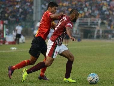 Mohun Bagan ended up winning their second clash against East Bengal in the ongoing I-League. AFP