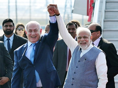 Benjamin Netanyahu dubs India-Israel ties a 'marriage in heaven', says New Delhi's UN vote against Jerusalem issue won't affect relations