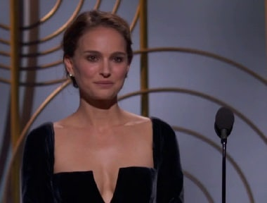 Steven Spielberg, Guillermo del Toro respond to Natalie Portman's 'all-male directors' jibe at Golden Globes 2018