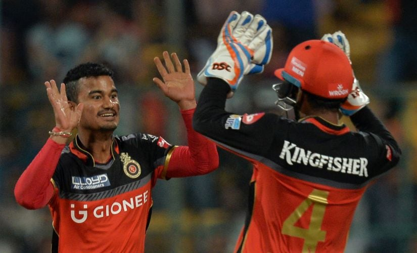 After a disastrous season with Delhi Daredevils, Pawan Negi played for Royal Challengers Bangalore in 2017. AFP