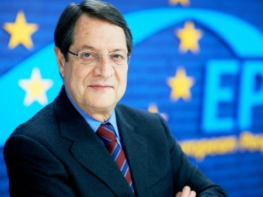 Cyprus leader Nicos Anastasiades looks for allies ahead of presidential polls that could define peace talks with Turkish Cypriots
