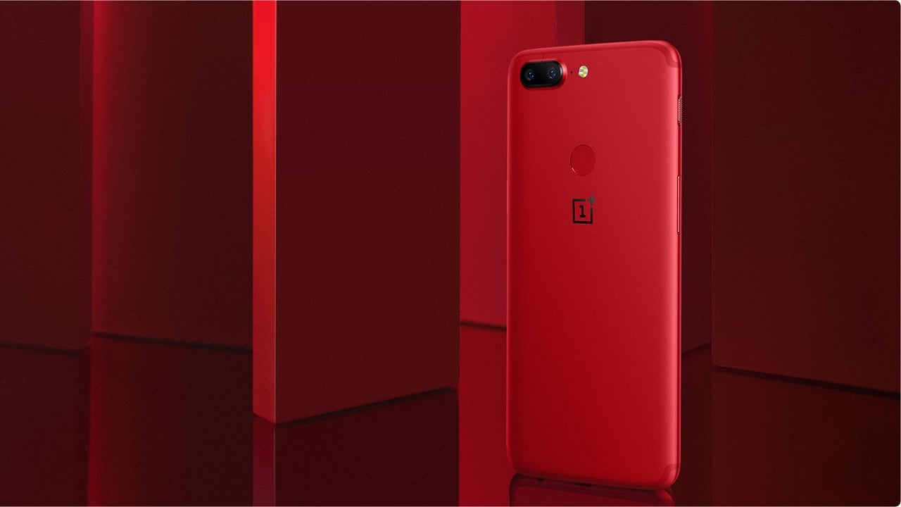 OnePlus 5T Lava Red Edition. OnePlus