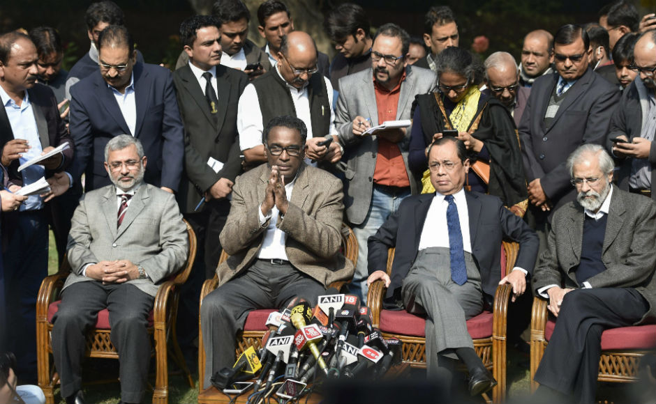 Top Supreme Court judges raise concern against CJI, hold press conference to highlight judicial crisis