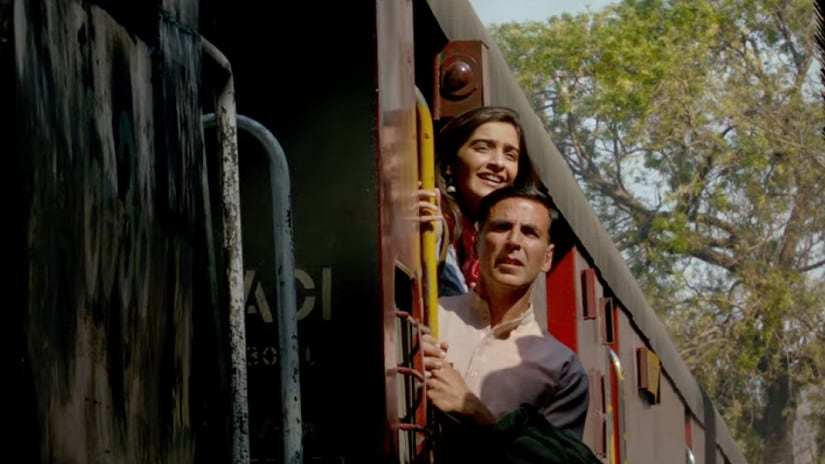 Still from Padman song 'Hu Ba Hu'. YouTube screengrab