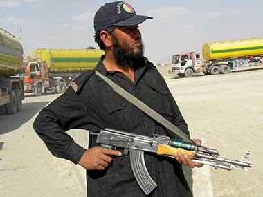 File image of a Pakistani border guard. AP