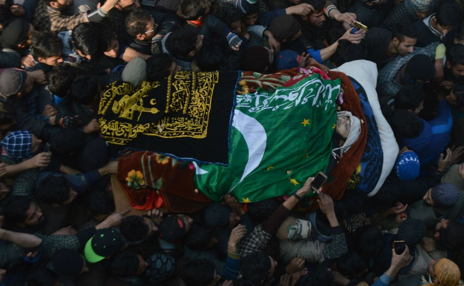 23-year-old youth killed in South Kashmir clashes
