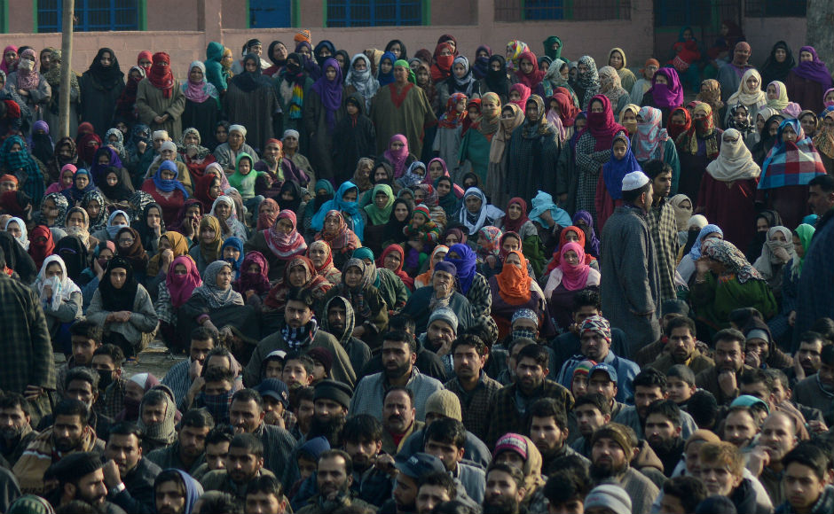 Wani was buried in his hometown amid pro-freedom and anti-India slogans. Clashes erupted soon after the funeral, after heavy stone-pelting was reported. Heavy security personnel were deployed in the area. Firstpost/Sameer Mushtaq