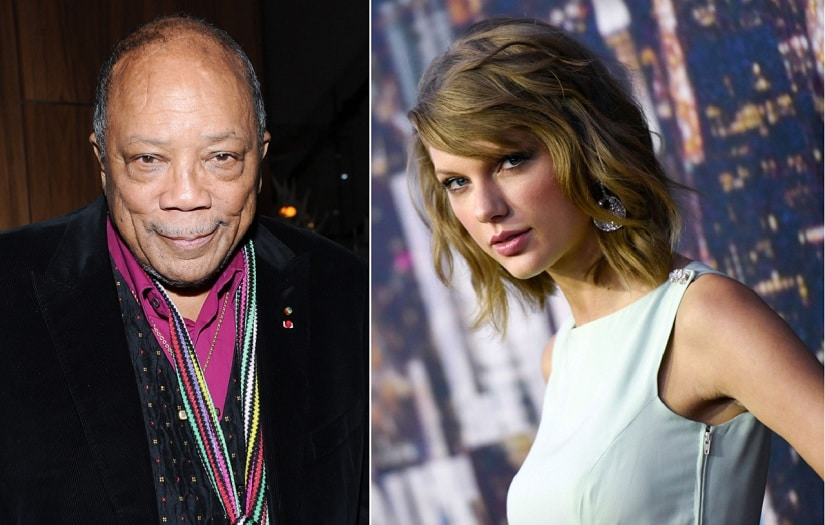 Quincy Jones shoots down Taylor Swift: 'We need f***ing songs, not hooks'