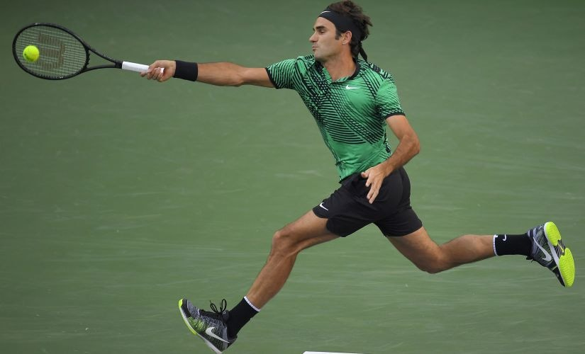 File image of Roger Federer. AP
