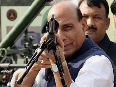 File image of Rajnath Singh. PTI