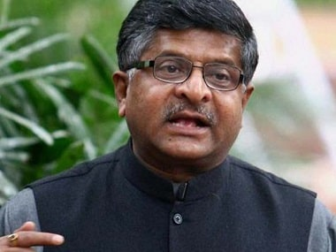 P Chidambaram 'opened all doors' for favourable companies during UPA rule, says Ravi Shankar Prasad