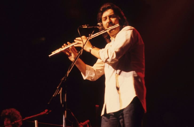 Ray Thomas. Image from Twitter/@UltClassicRock.