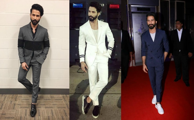 Shahid Kapoor. Images from AFP, Facebook and Instagram.