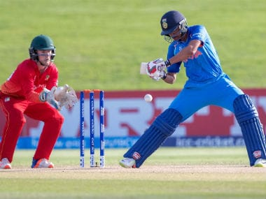 ICC U-19 World Cup 2018: Shubman Gill, Anukul Roy help India thrash hapless Zimbabwe, top Group B