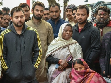 Lalu's sister Gangotri Devi dies of shock day after CBI court sentences RJD chief to three-and-a-half yrs in jail