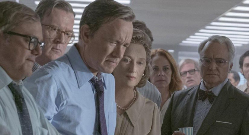 A still from The Post