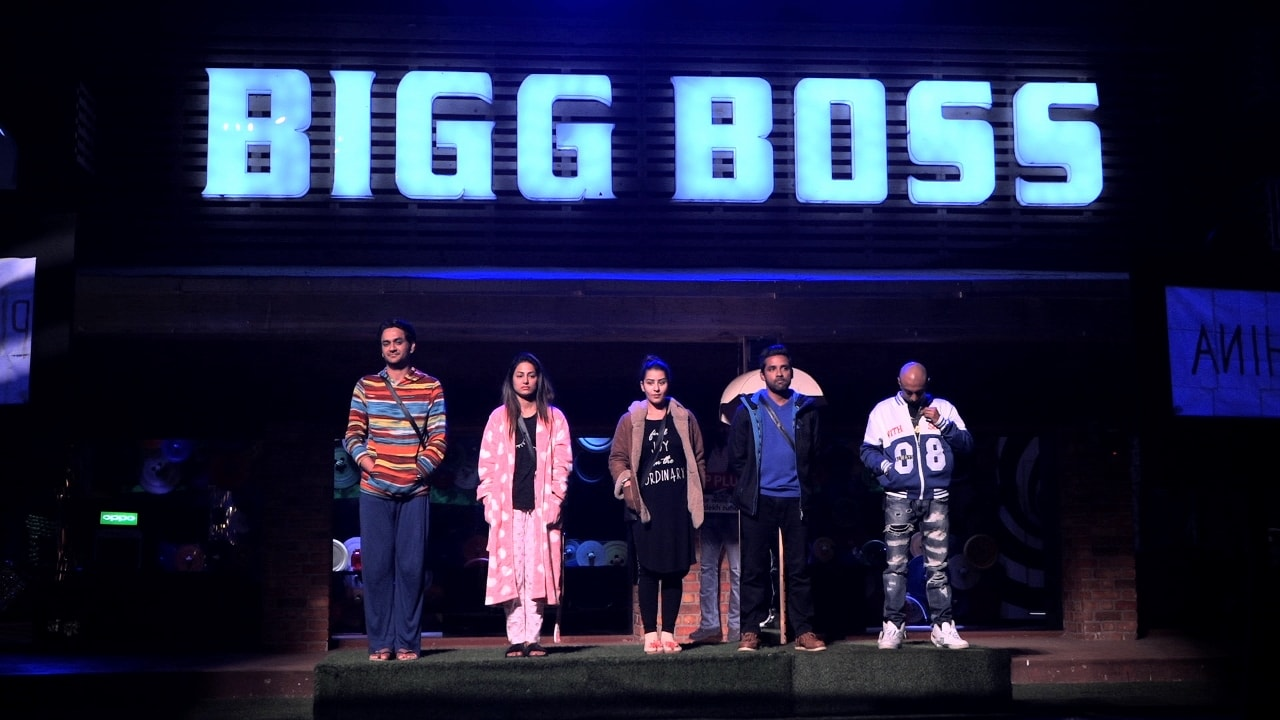 The top 5 contestants of Bigg Boss 11