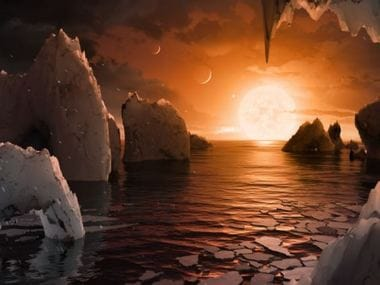 The planets in the TRAPPIST-1 solar system that are in the same position as Earth and Mars might be the most habitable for extraterrestrial life. NASA