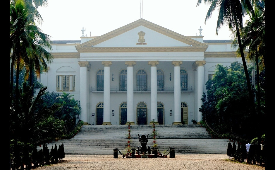 This building was once the home of the British viceroy who ruled over India. The vast early 19th century mansion and grounds now house the government of West Bengal State, in Kolkata, India. Image from AP